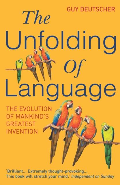 Unfolding Of Language