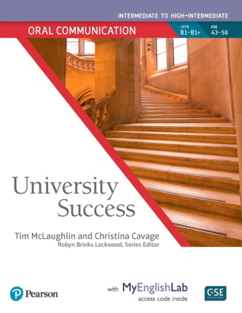 University Success Oral Communication Intermediate, Student Book with MyLab English