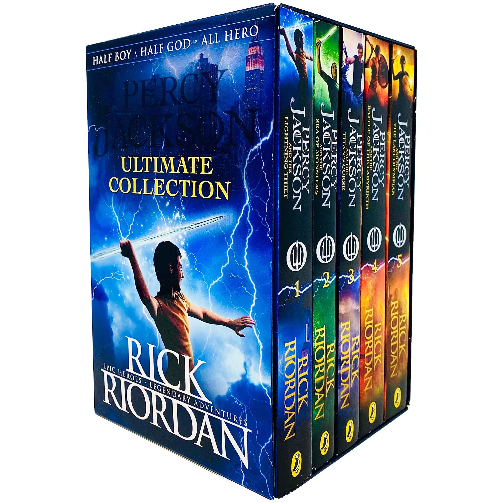 Percy Jackson & the Olympians 5 Book Collection Set (promoție în limita stocului disponibil)