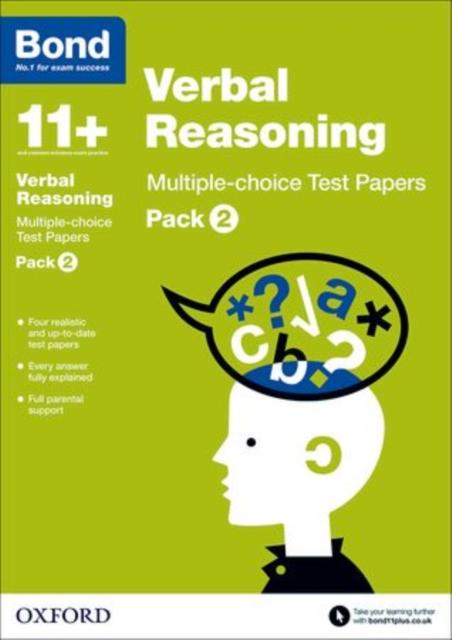 Bond 11+: Verbal Reasoning: Multiple-choice Test Papers