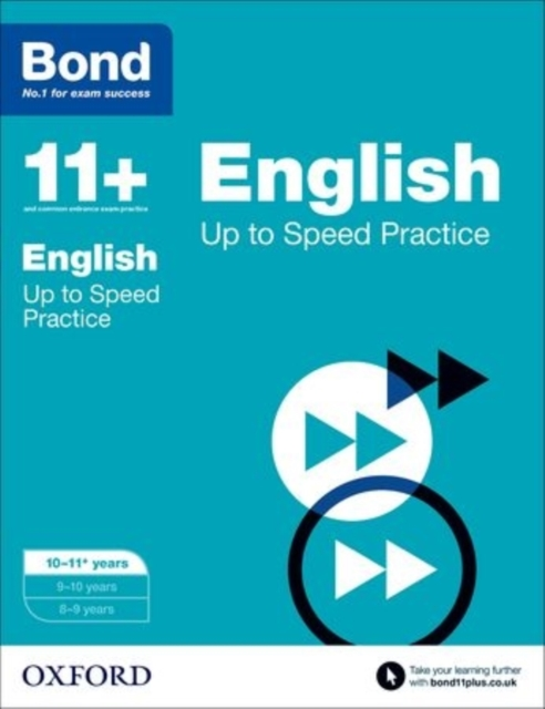 Bond 11+: English: Up to Speed Papers