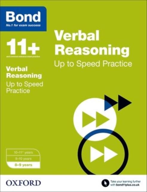 Bond 11+: Verbal Reasoning: Up to Speed Papers