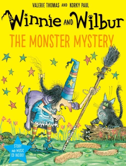 Winnie and Wilbur: The Monster Mystery PB + CD