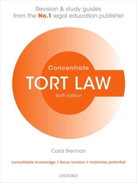 TORT LAW 6E