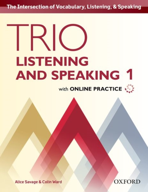 Trio Listening and Speaking: Level 1: Student Book Pack with Online Practice