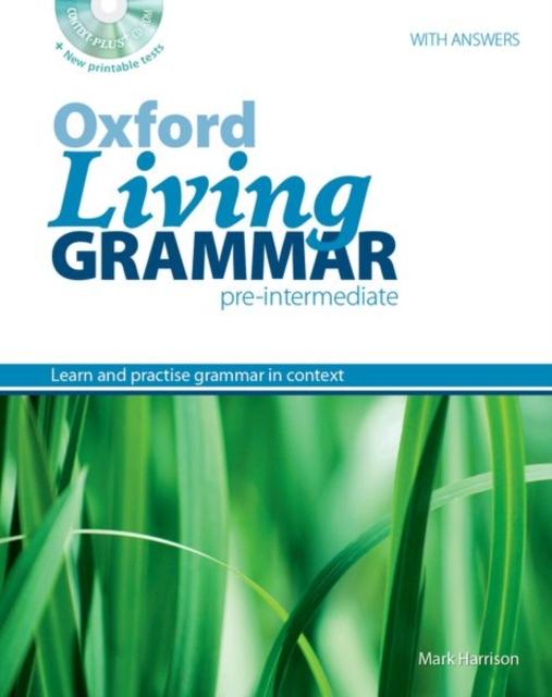 Oxford Living Grammar: Pre-Intermediate: Student's Book Pack