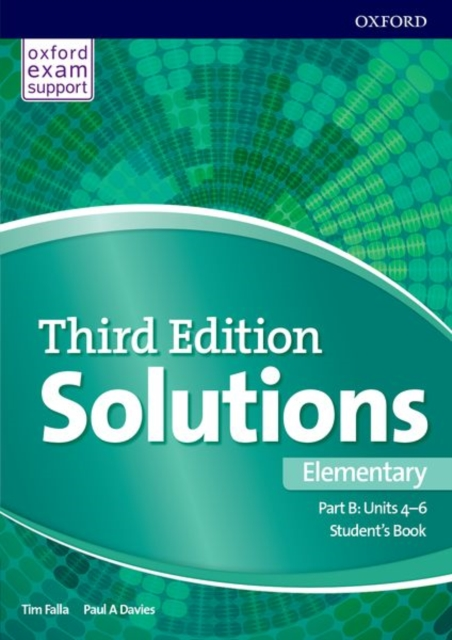 Solutions: Elementary: Student's Book B Units 4-6