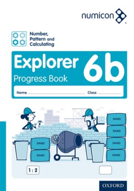 Numicon: Number, Pattern and Calculating 6 Explorer Progress Book B (Pack of 30)