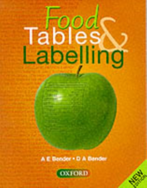 Food Tables and Labelling
