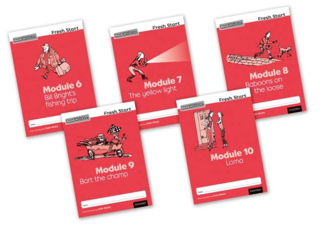 Read Write Inc. Fresh Start: Modules 6-10 - Mixed Pack of 5