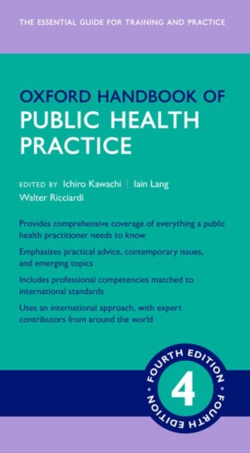 Oxford Handbook of Public Health Practice 4e
