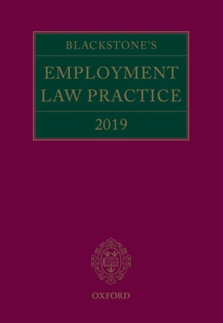 Blackstone's Employment Law Practice 2019