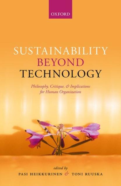 Sustainability Beyond Technology