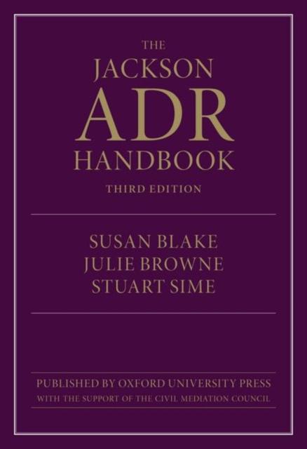 Jackson ADR Handbook 3e