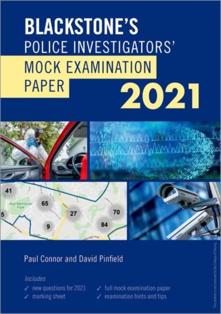 Blackstone's Police Investigators' Mock Exam 2021