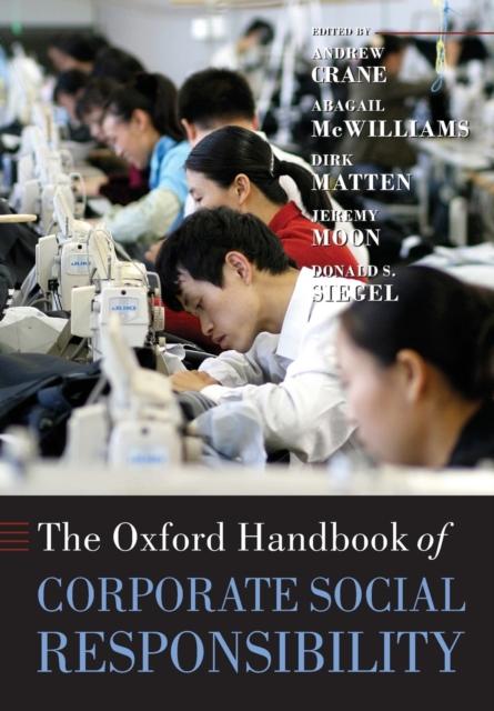 Oxford Handbook of Corporate Social Responsibility
