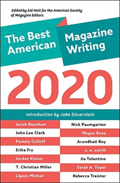 Best American Magazine Writing 2020