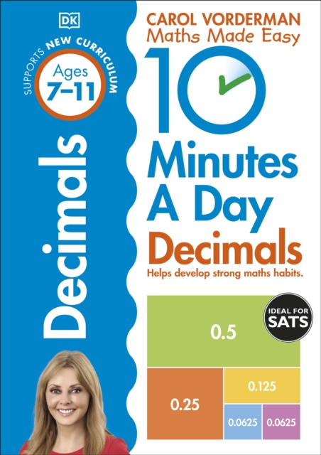 10 Minutes A Day Decimals, Ages 7-11 (Key Stage 2)
