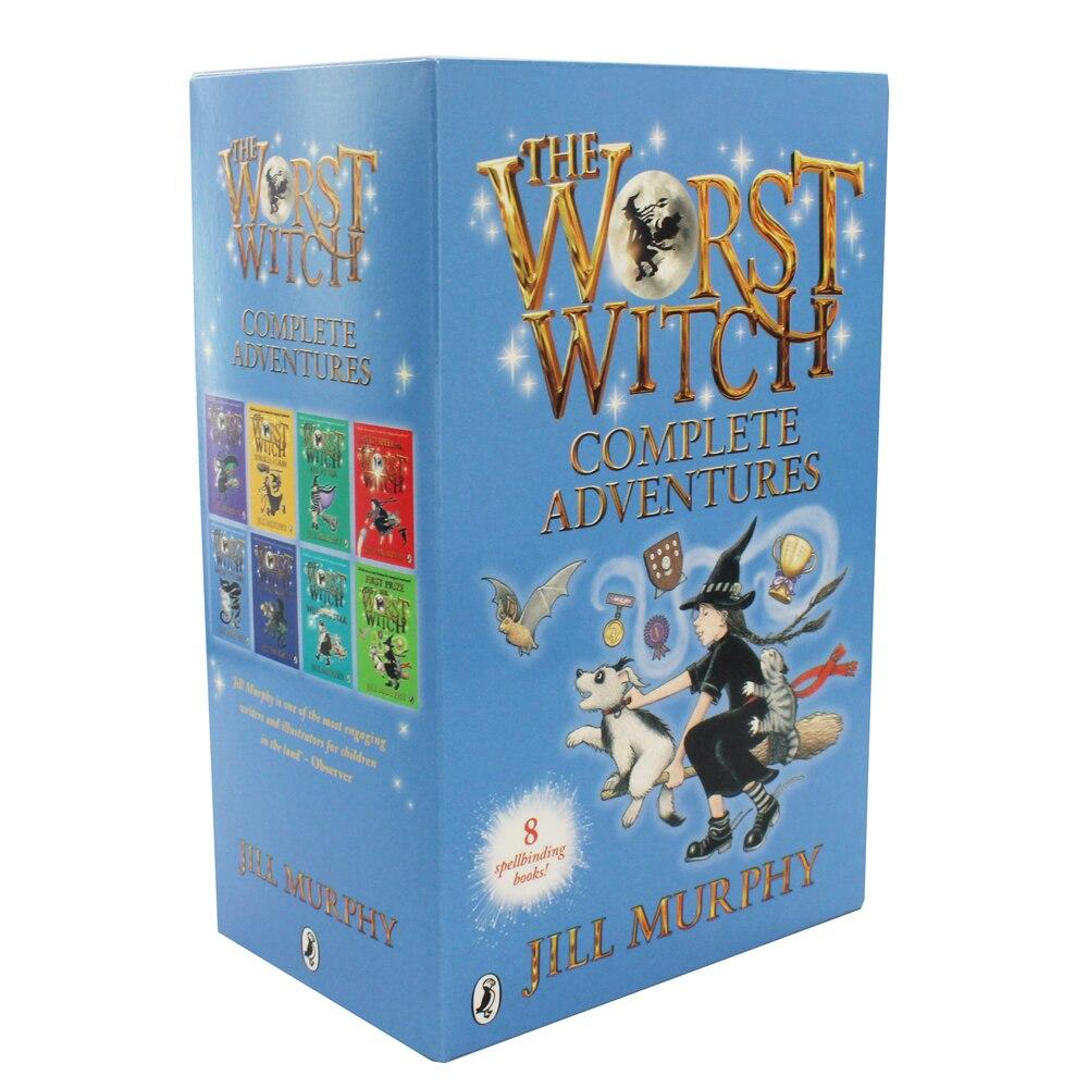 Worst Witch 8 PB Flexi Slipcase Set (promoție în limita stocului disponibil)