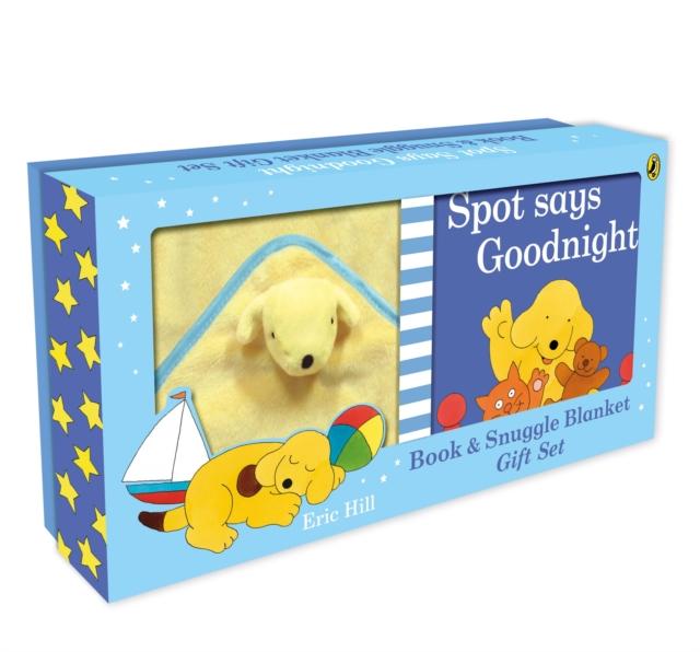Spot Says Goodnight Book & Blanket