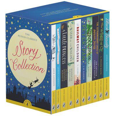 The Puffin Classics: 10 Book Story Collection (promoție în limita stocului disponibil)