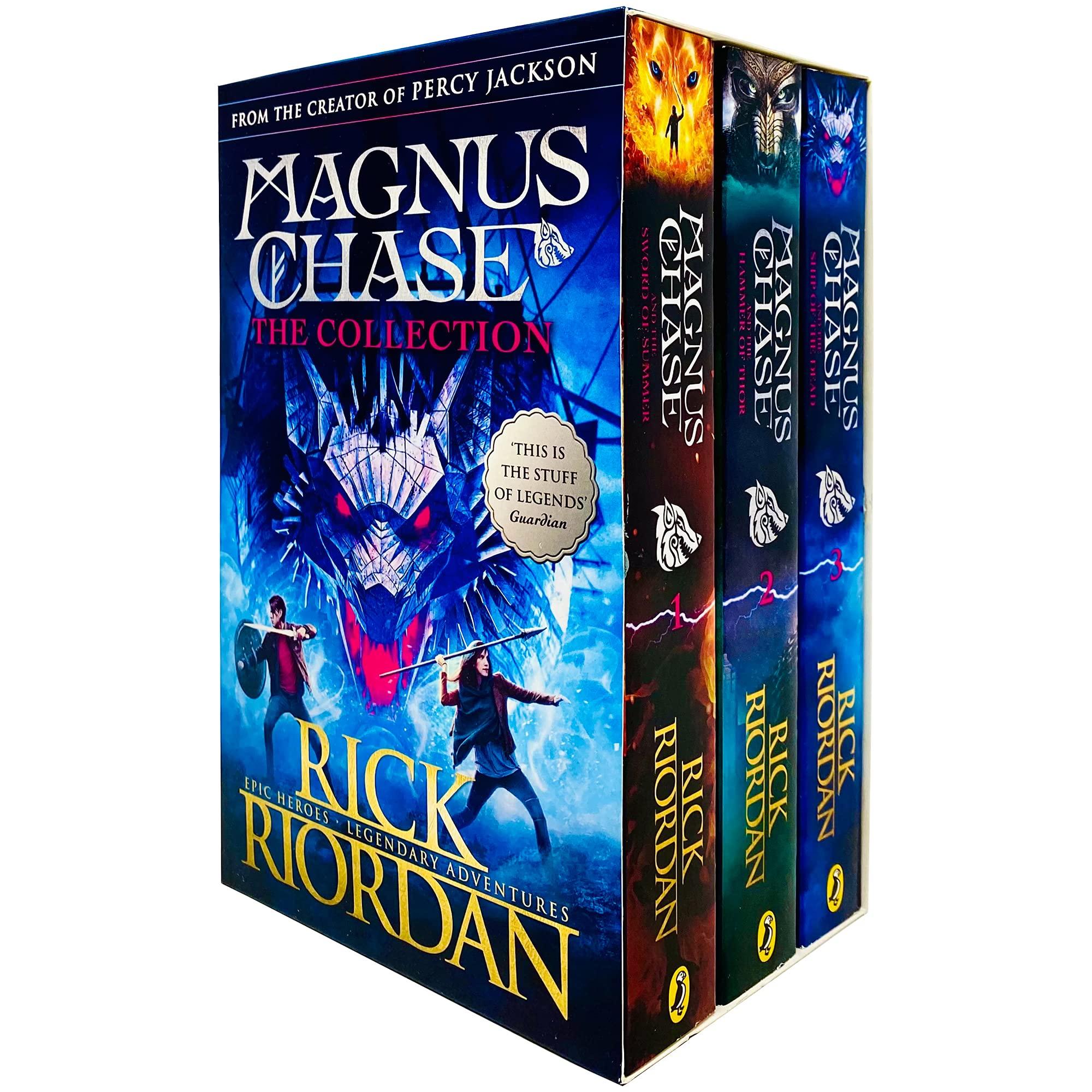 Magnus Chase Collections (Books 1 - 3) (promoție în limita stocului disponibil)