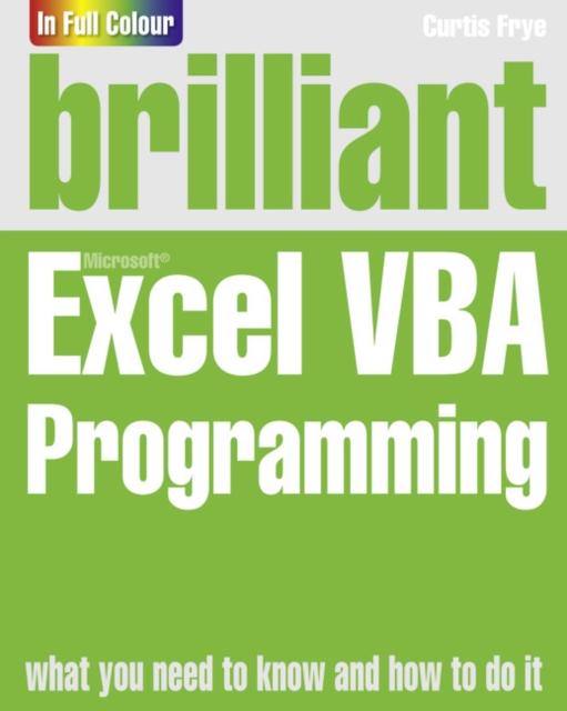 Brilliant Excel VBA Programming