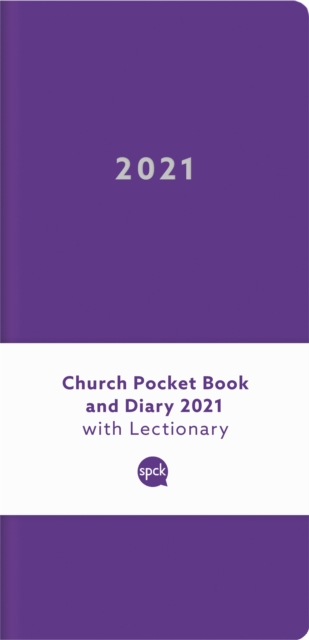 Church Pocket Book and Diary 2021 Purple