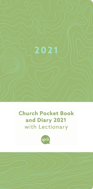Church Pocket Book and Diary 2021 Pattern 1