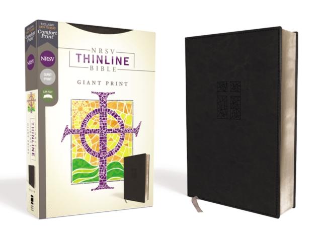 NRSV, Thinline Bible, Giant Print, Leathersoft, Black, Comfort Print