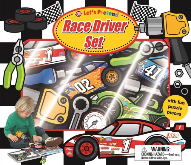 LETS PRETEND RACE DRIVER SET