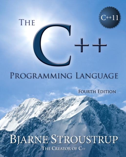 C++ Programming Language (hardcover), The