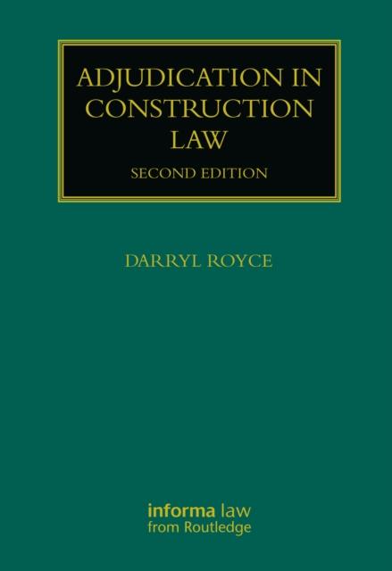 Adjudication in Construction Law