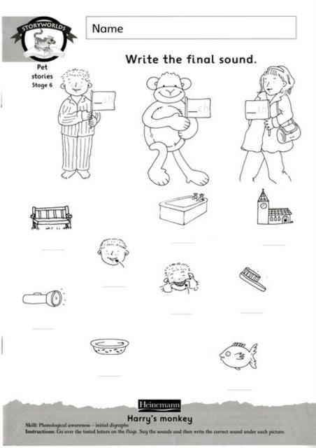 Storyworlds Yr1/P2 Stage 6, Animal World, Workbook (8 Pack)