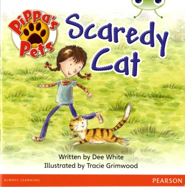 Bug Club Guided Fiction Year 1 Yellow B Pippa's Pets: Scaredy Cats