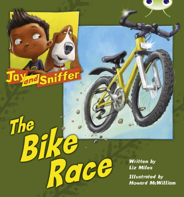 Bug Club Independent Fiction Year 1 Blue A Jay and Sniffer: The Bike Race