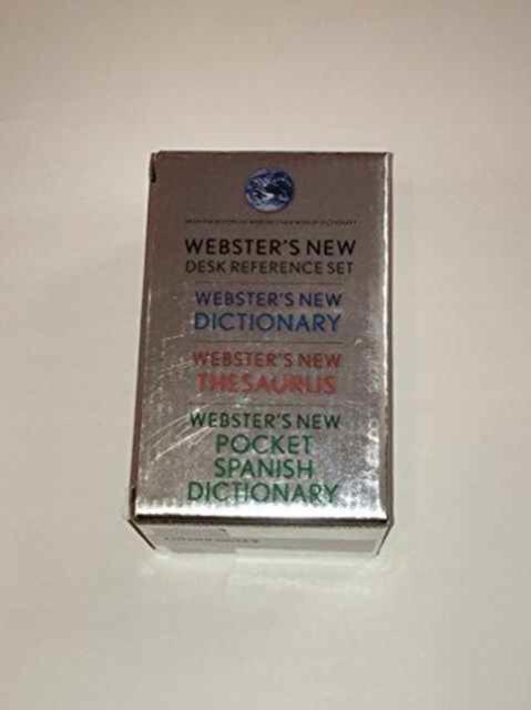 WNW Dictionary, Thesaurus, Spanish Dictionary Pocket Desk Set