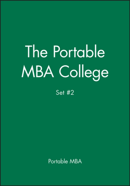 Portable MBA College Set #2
