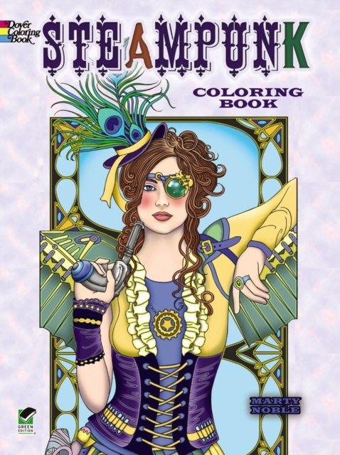 Creative Haven Steampunk Coloring Book