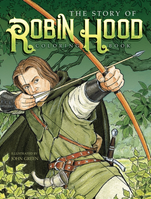 Story of Robin Hood Coloring Book