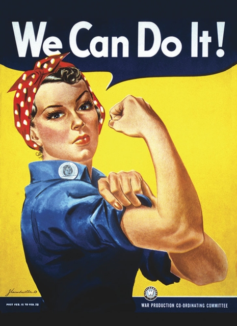 Rosie the Riveter We Can Do It! Notebook
