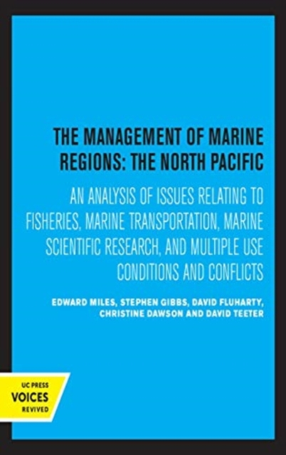 Management of Marine Regions: The North Pacific