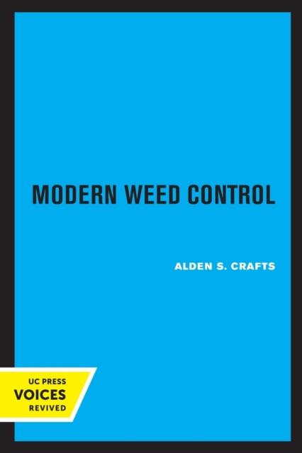 Modern Weed Control