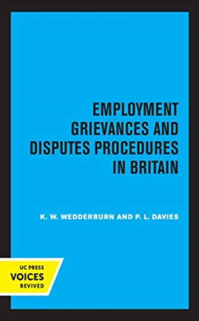 Employment Grievances and Disputes Procedures in Britain