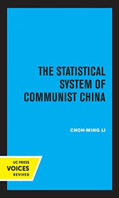 Statistical System of Communist China
