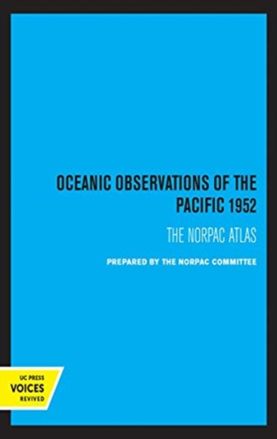 Oceanic Observations of the Pacific 1952