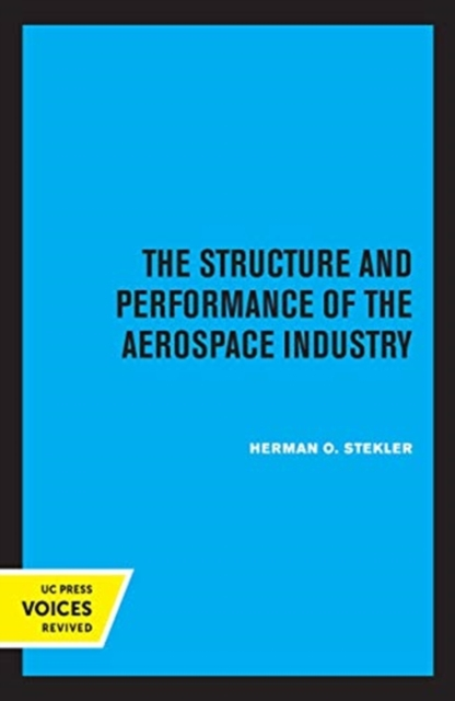 Structure and Performance of the Aerospace Industry