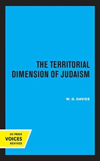 Territorial Dimension of Judaism