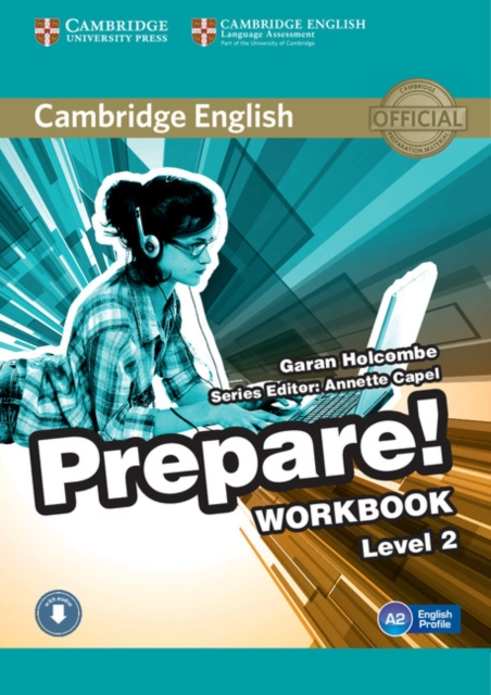 Cambridge English Prepare! Level 2 Workbook with Audio
