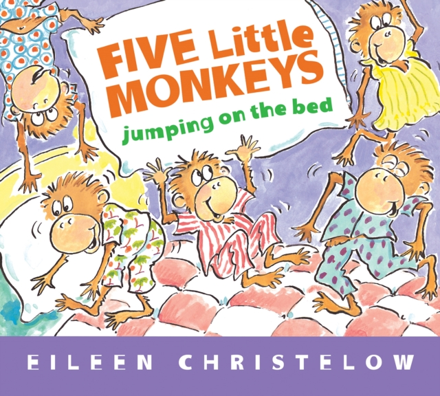 Five Little Monkeys Jumping on the Bed (padded)